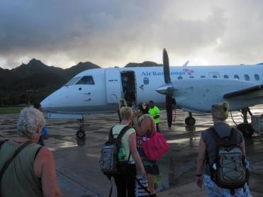 Abflug nach Aitutaki