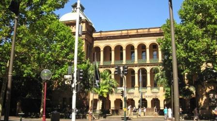 Tolle Fassade des Sydney' Hospital