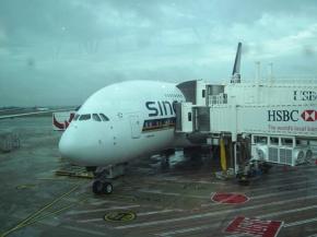 Unser KLEINER flieger nach Singapore