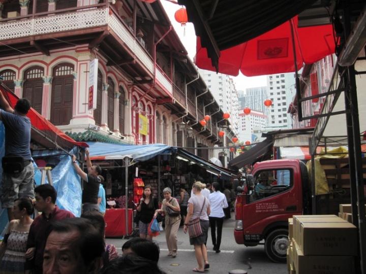 Unterwegs in Chinatown