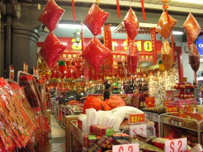 Chinesicher Supermarkt