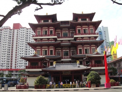 Tempel in Chinatown