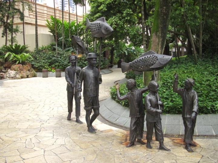 Ruhezone mitten in Singapore... wie so oft