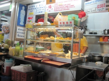 Leckerer Foodstand in Little India