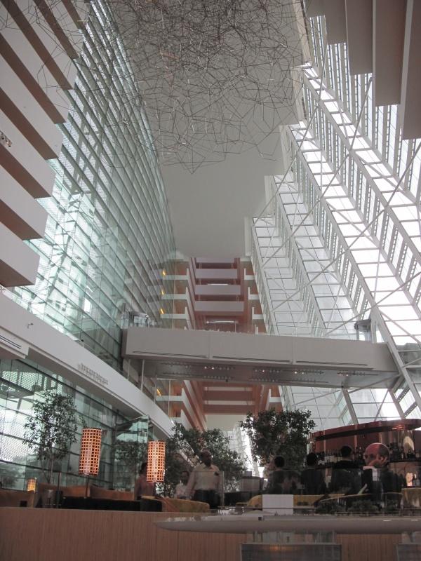 Foyer im Marina Bay Sands Hotel