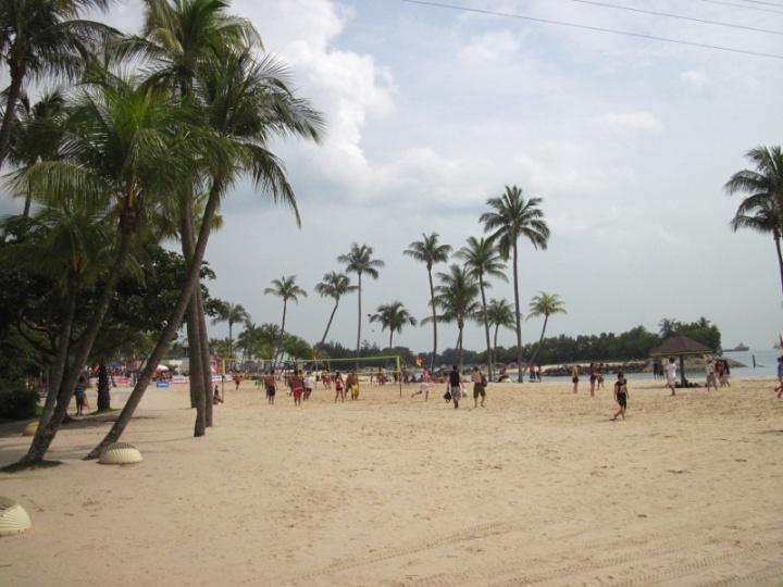 Strand auf Sentosa Island