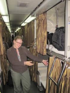 Schlafwagen im Zug nach KL