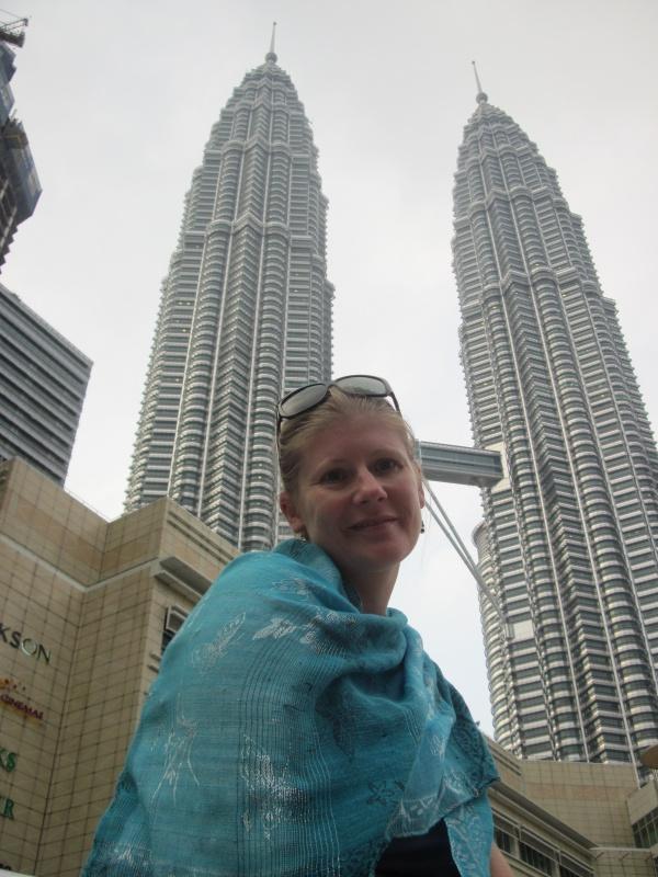 Petronas Towers und Angie