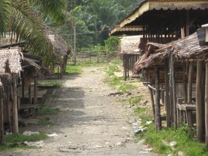 Weg in Bukit Lawang