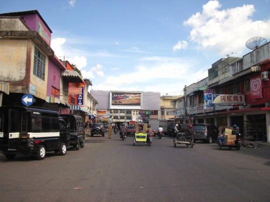 Straße in Banda Aceh