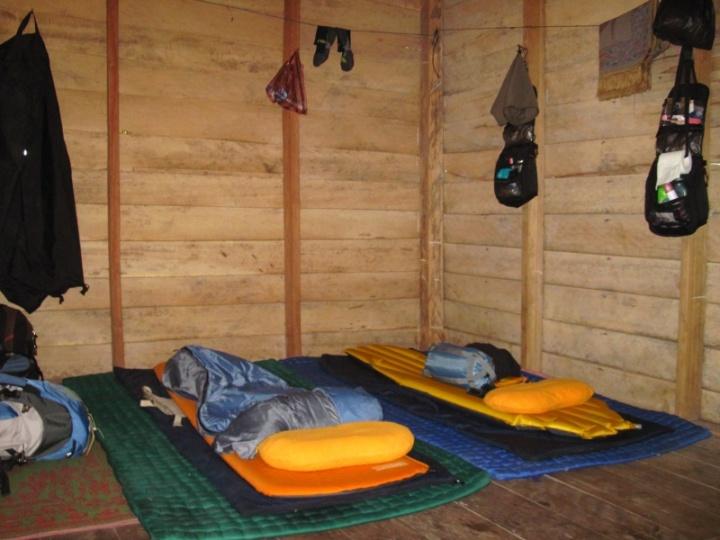 unser Schlaflager