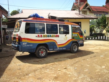 Bus nach Sidikalang