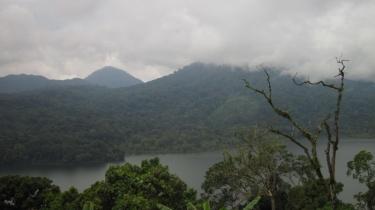 In den Bergen Balis