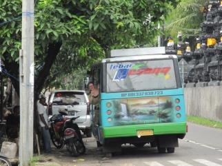 Unser Bus nach Ubud