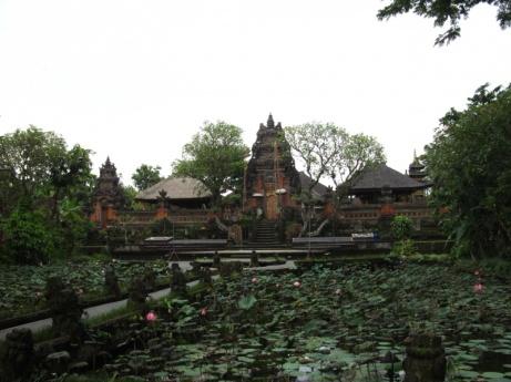 Wassertempel in Ubud