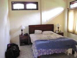 unser Zimmer in Ubud
