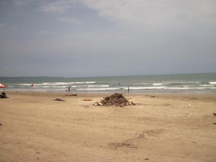 auch Kuta's Strand