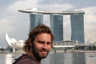 Thomas in Singapur