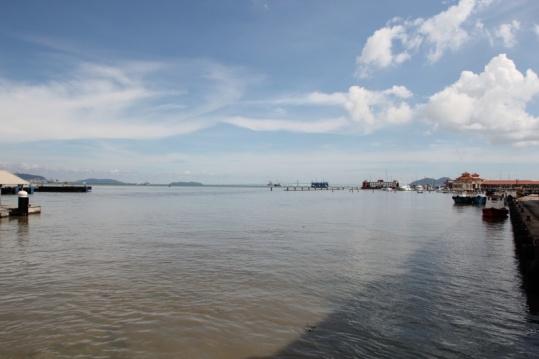 Hafen von Georgtown