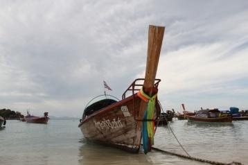 typisches thailändisches Boot