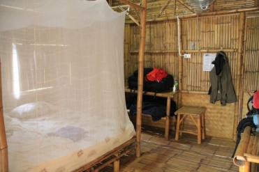 unser Bambusbungalow