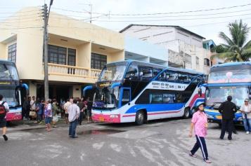 unser Bus nach Bangkok