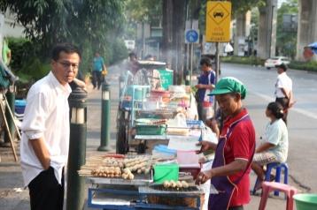Der Snack am Straßeneck