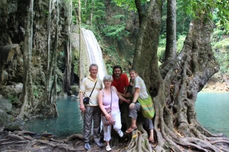 Gruppenfoto unser Reisegruppe