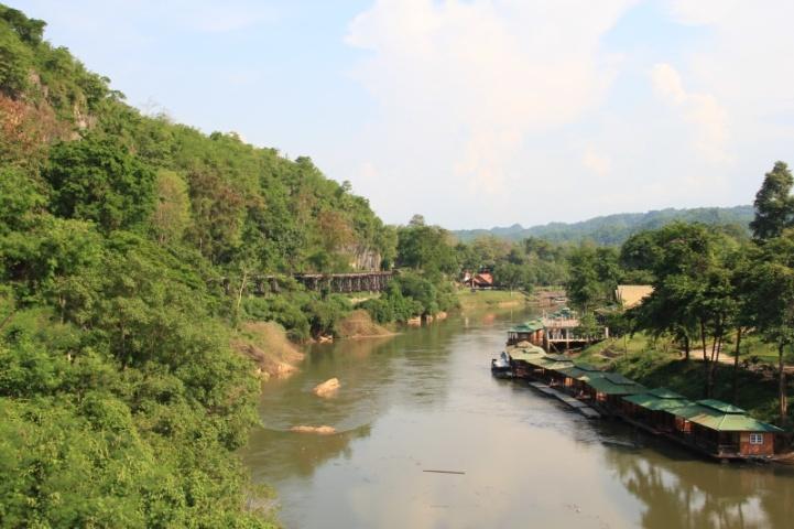 Blick vom Viadukt