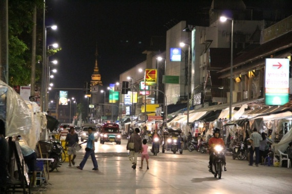 Chiang Mai bei Nacht