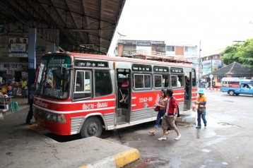 Unser Bus von Ching Rai nach Ching Khong