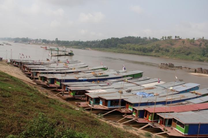 Der Mekongboothafen