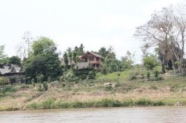 unser Hostel am Mekong