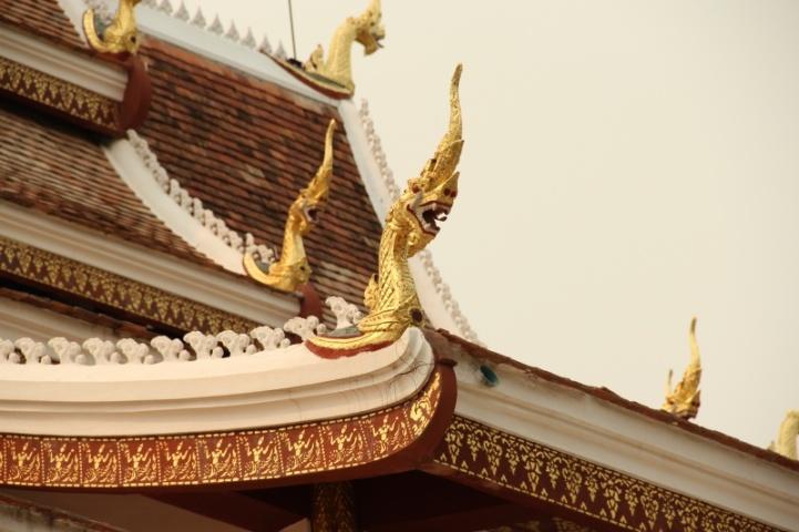 Verzierungen am Tempelpalast