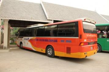 Unser Bus nach Hanoi