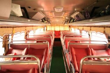 Im Bus nach Hanoi