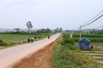 Nordvietnam kurz hinter Grenze