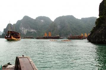 In Ha Long ist man nie allein
