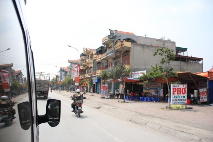 Auf dem Weg nach Hanoi