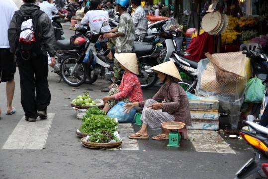 Markt im Mekongdelta