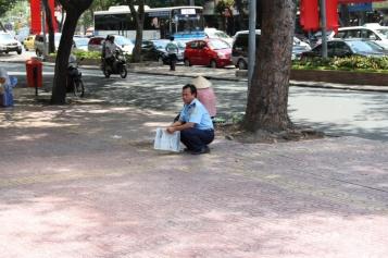 Hocken ist auch ein großes Hobby der Vietnamesen
