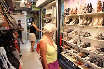 beim shoppen