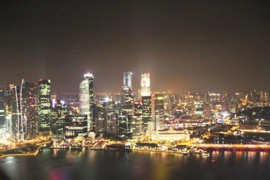 Singapore von oben