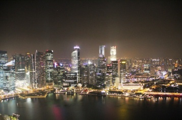 Singapore vom Marina Bay Sands