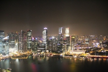 Singapore vom Marina Bay Sands