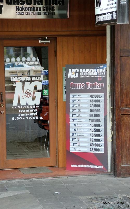 Auch da gibts Angebote (Bangkok)