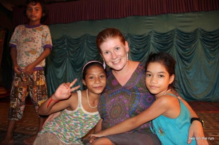 Die Kinder mit Angie