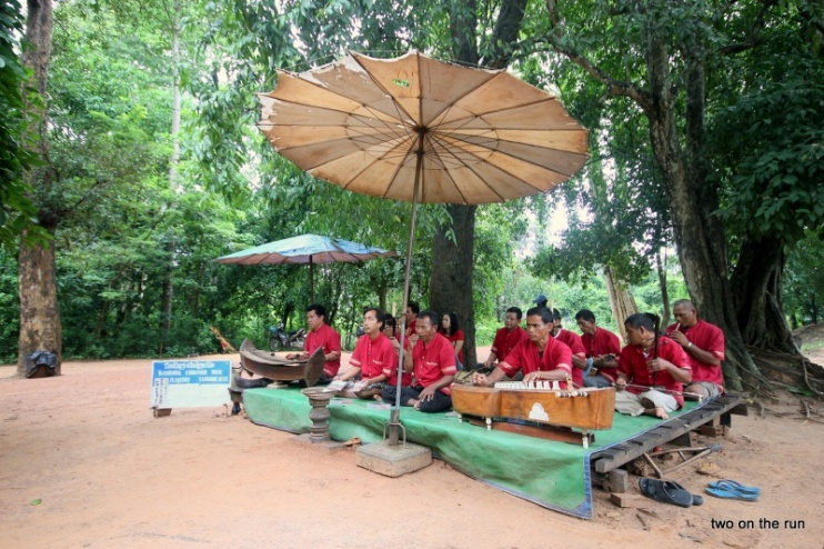Minenopferkapelle in Angkor