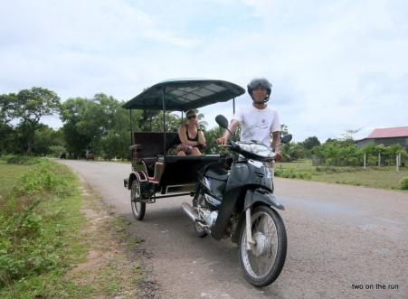 Unser Tuk Tuk Fahrer in Angkor