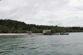 Hafen von Koh Rung